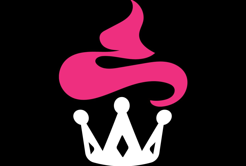 Queen Crown Png Cupcake Kingdom Logo D...