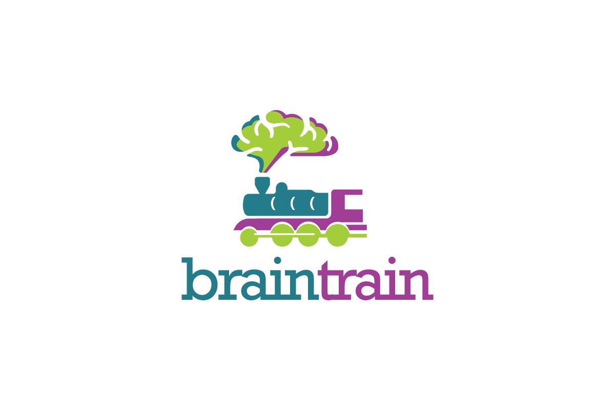 Brain Train Logo Logo Cowboy
