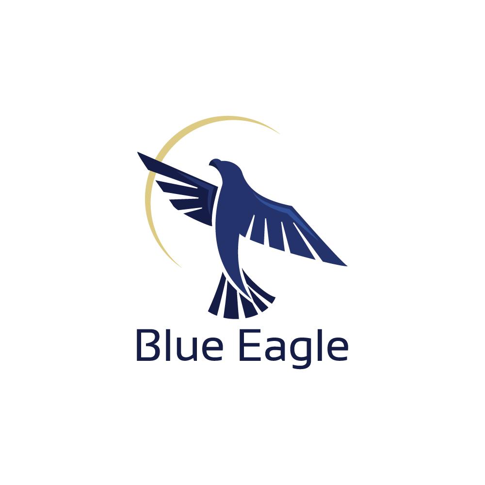 for sale blue eagle logo design logo cowboy