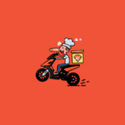 delivery boy_logocowboy
