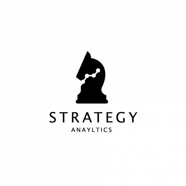 Strategy Analytics Chess Knight Logo – SOLD | Logo Cowboy