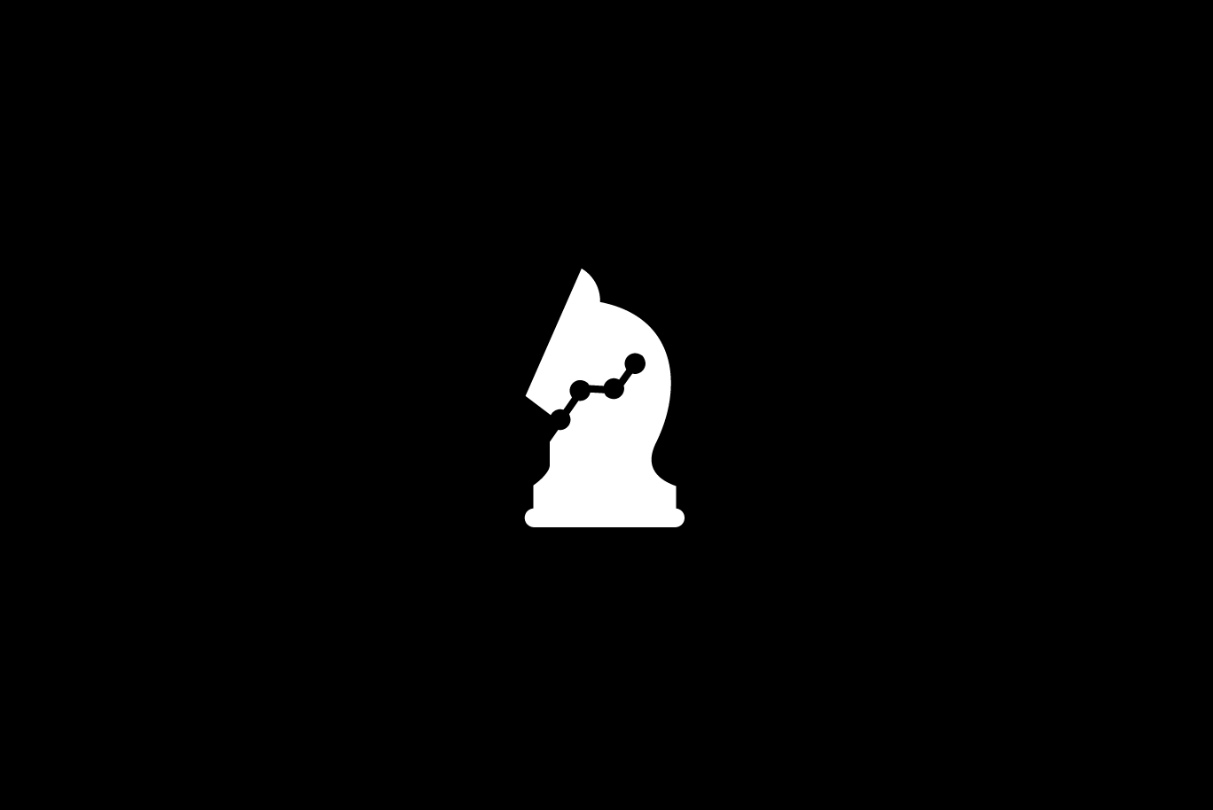 strategy analytics chess knight logo � sold logo cowboy