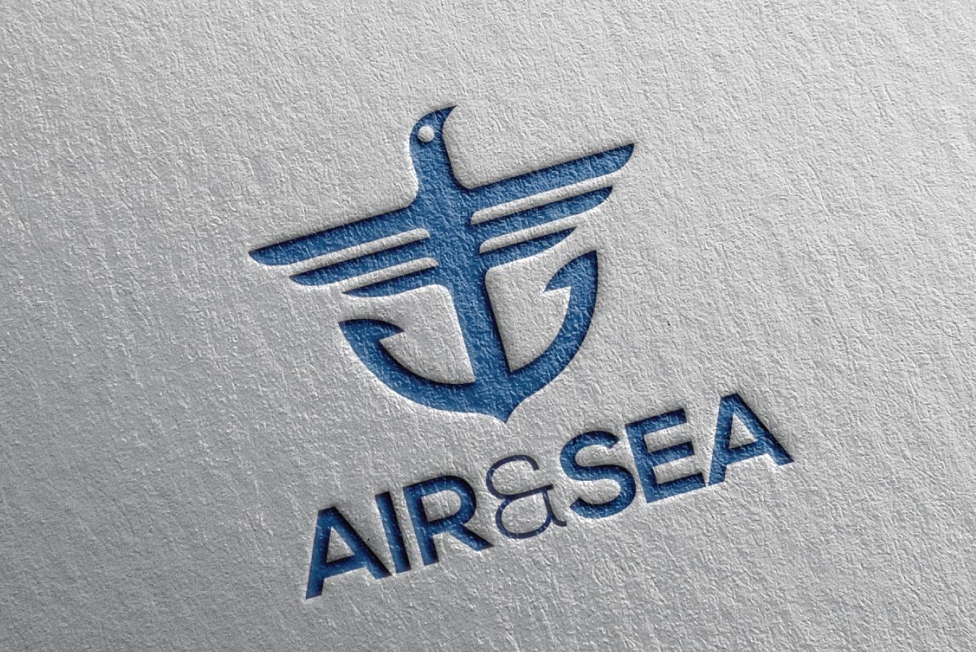 Sold Air Amp Sea Bird Anchor Logo Logo Cowboy
