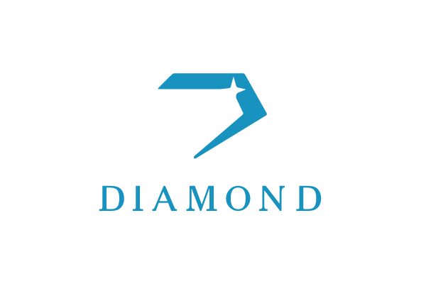 Diamond letter d logo design logo cowboy for D for design