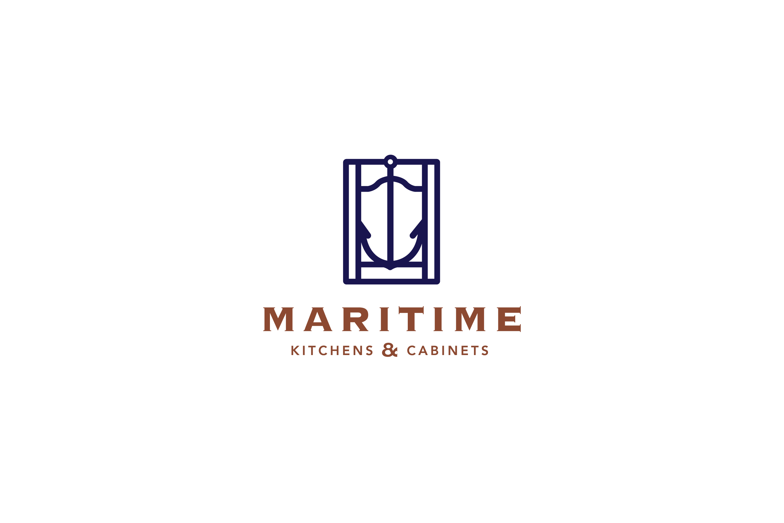 Maritime Kitchens and Cabinets | Logo Cowboy