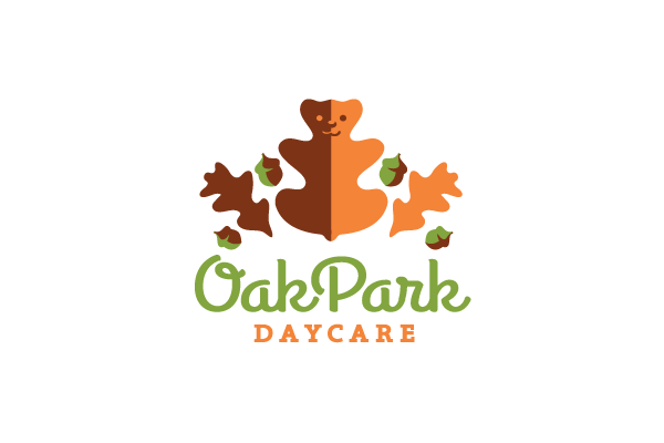 oak park daycare logo design  u2013 logo cowboy