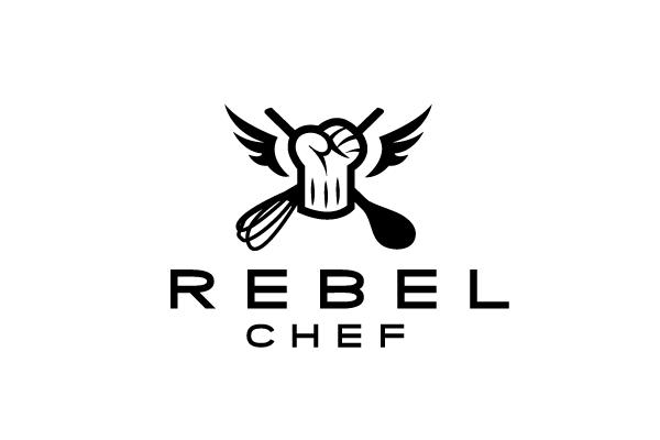 rebel chef logo design  u2013 logo cowboy