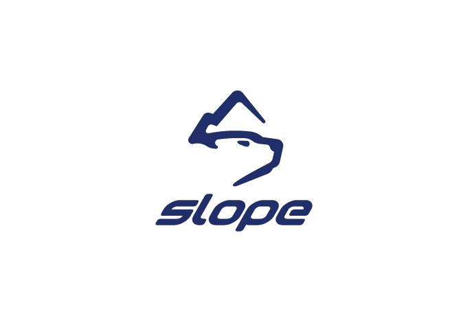 slope polar bear logo design logo cowboy. Black Bedroom Furniture Sets. Home Design Ideas