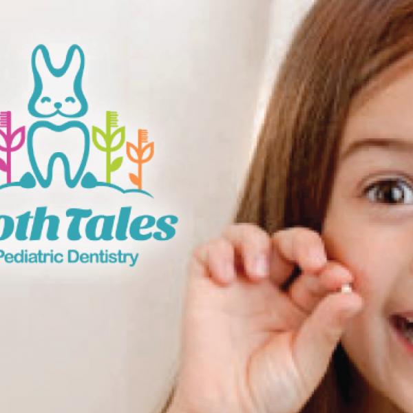 toothtales dentist logo design logo cowboy