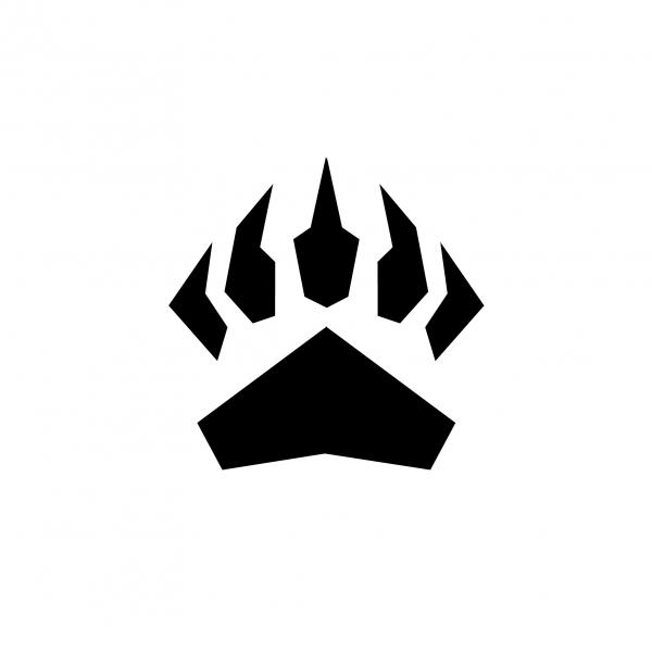Bear claw sports logo - photo#25