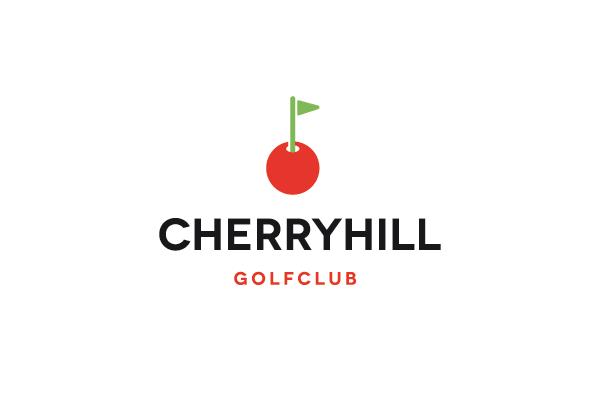 Cherry Hill Golf Club Logo Design Logo Cowboy