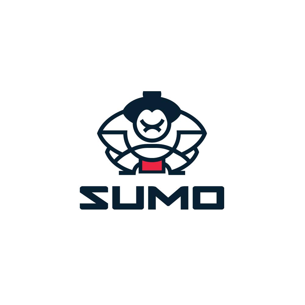 For Sale Sumo Wrestler Logo Design Logo Cowboy