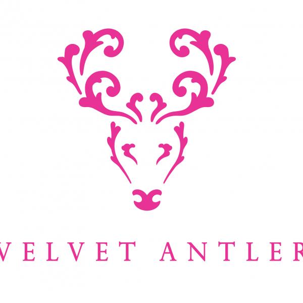 deer head logo pink - photo #23