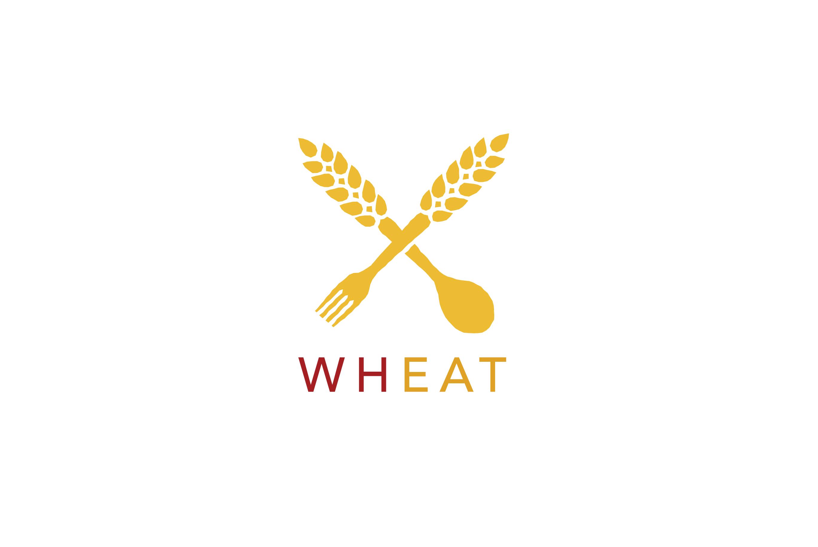 Wheat logo design logo cowboy for Decor logo