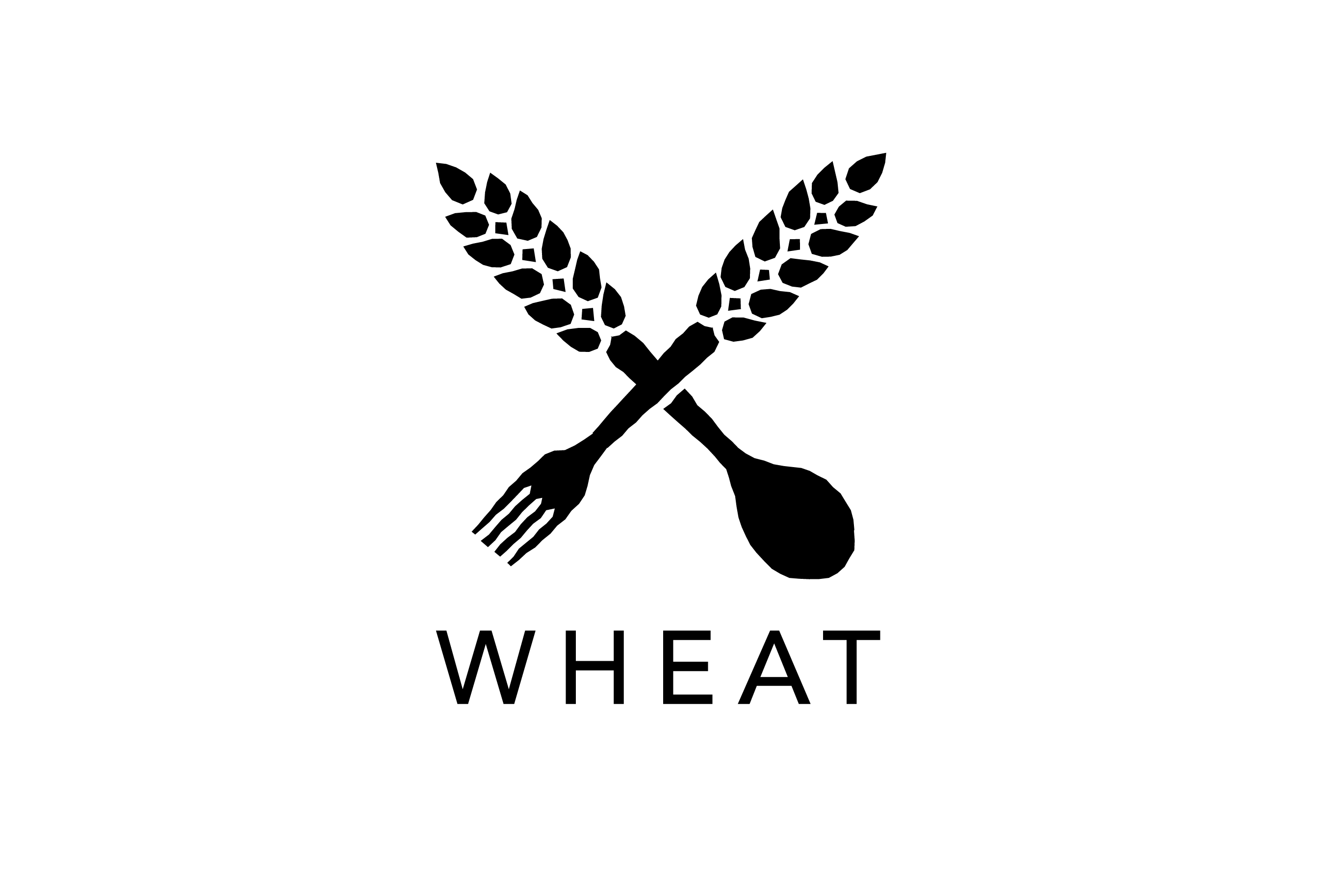 Wheat logo design logo cowboy for Design lago