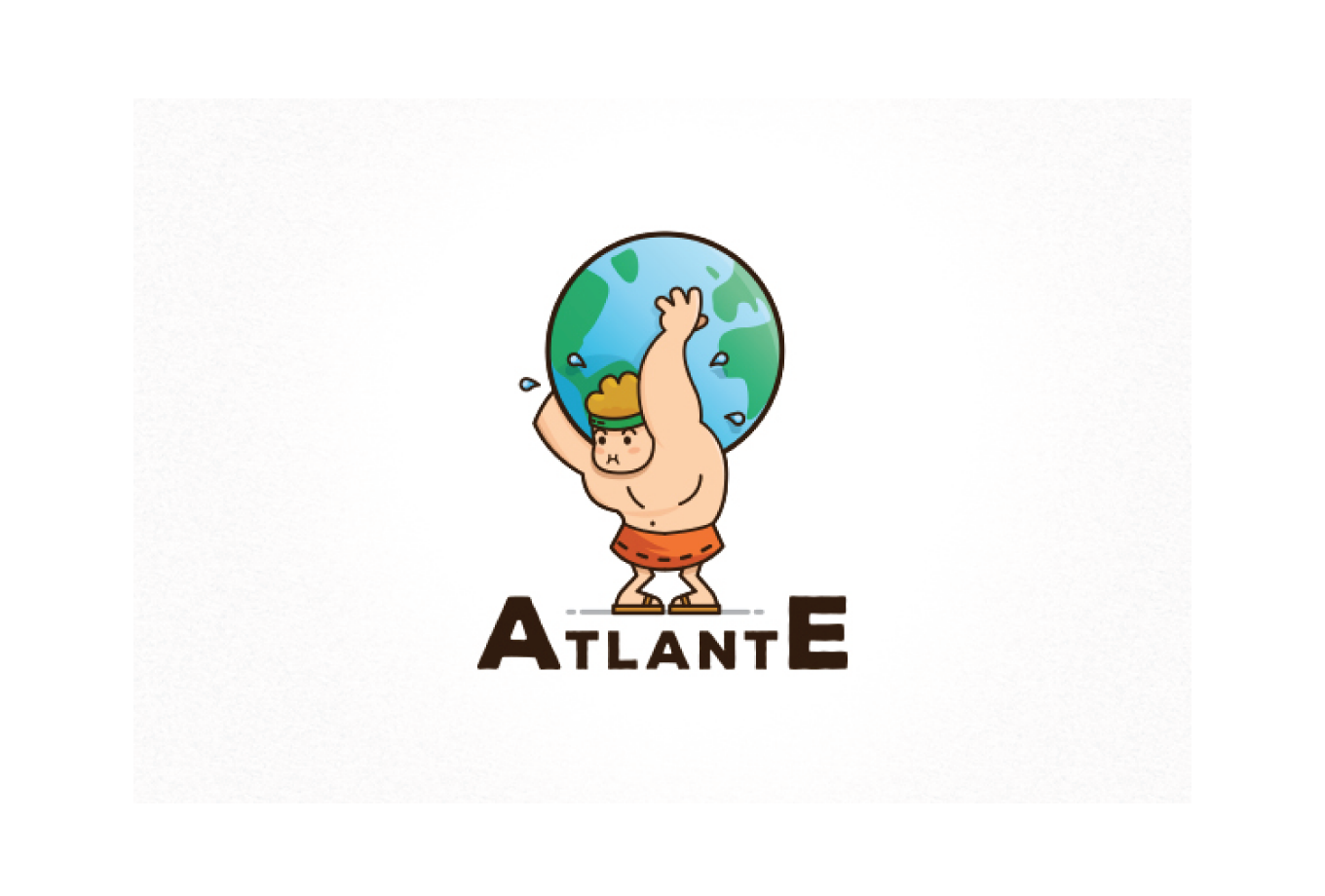 Atlante globe world earth logo design logo cowboy for Atlante compass