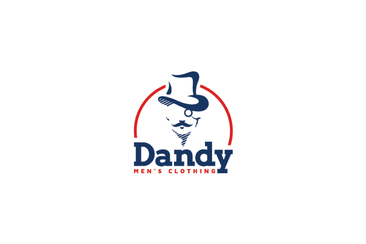 Dandy S Men S Clothing Logo Design Logo Cowboy