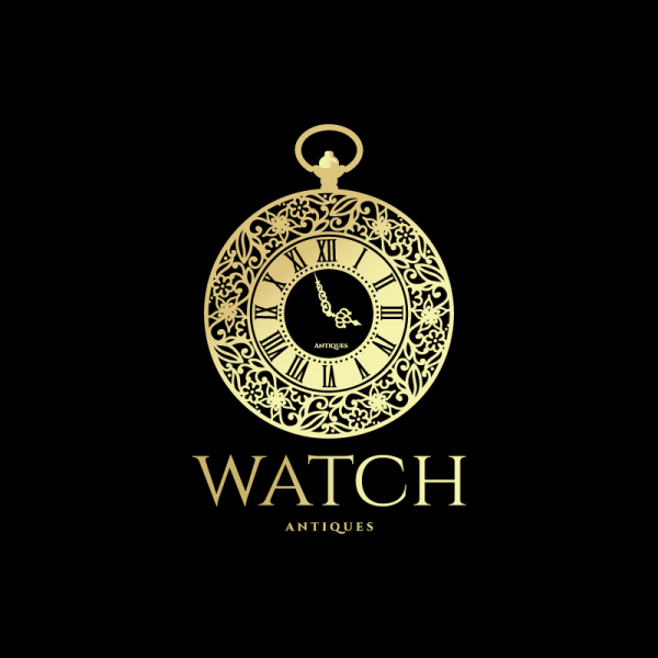 Watch Antiques Logo Design