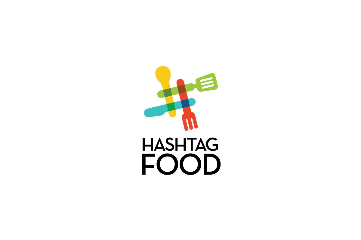 Hashtag food logo sold logo cowboy for Hashtag architecture