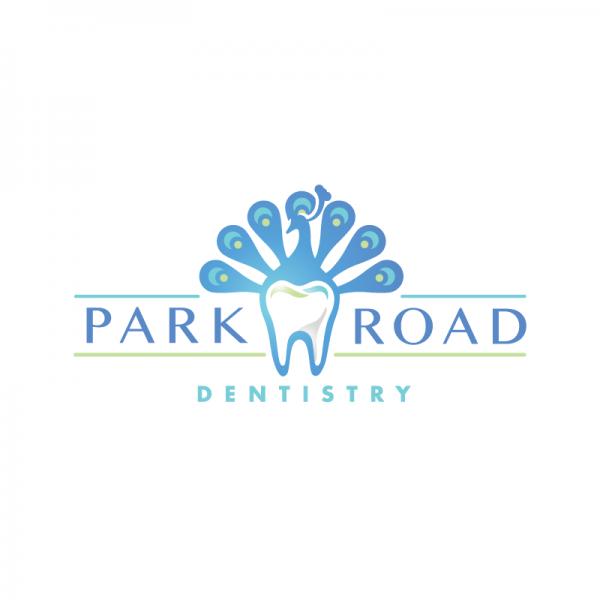 park road dentistry peacock tooth logo design logo cowboy
