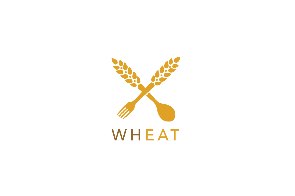 Wheat Fork And Spoon Logo Cowboy
