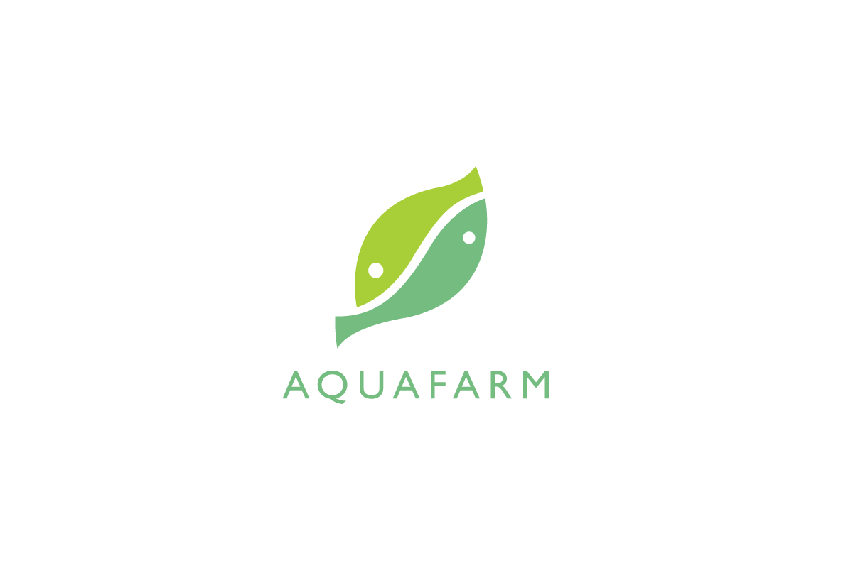 SOLD Aquafarm Fish Leaf Logo Cowboy