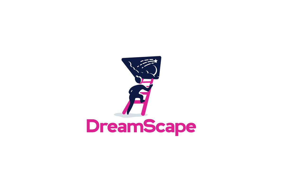 dreamscape logo cowboy