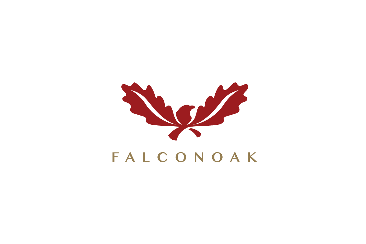 American Eagle Credit Card Sign In >> For Sale: Falconoak Eagle Oak Leaf Logo – Logo Cowboy