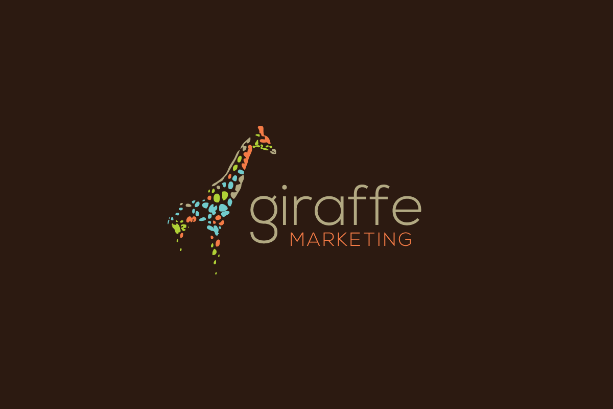 giraffe marketing  u2013 logo cowboy