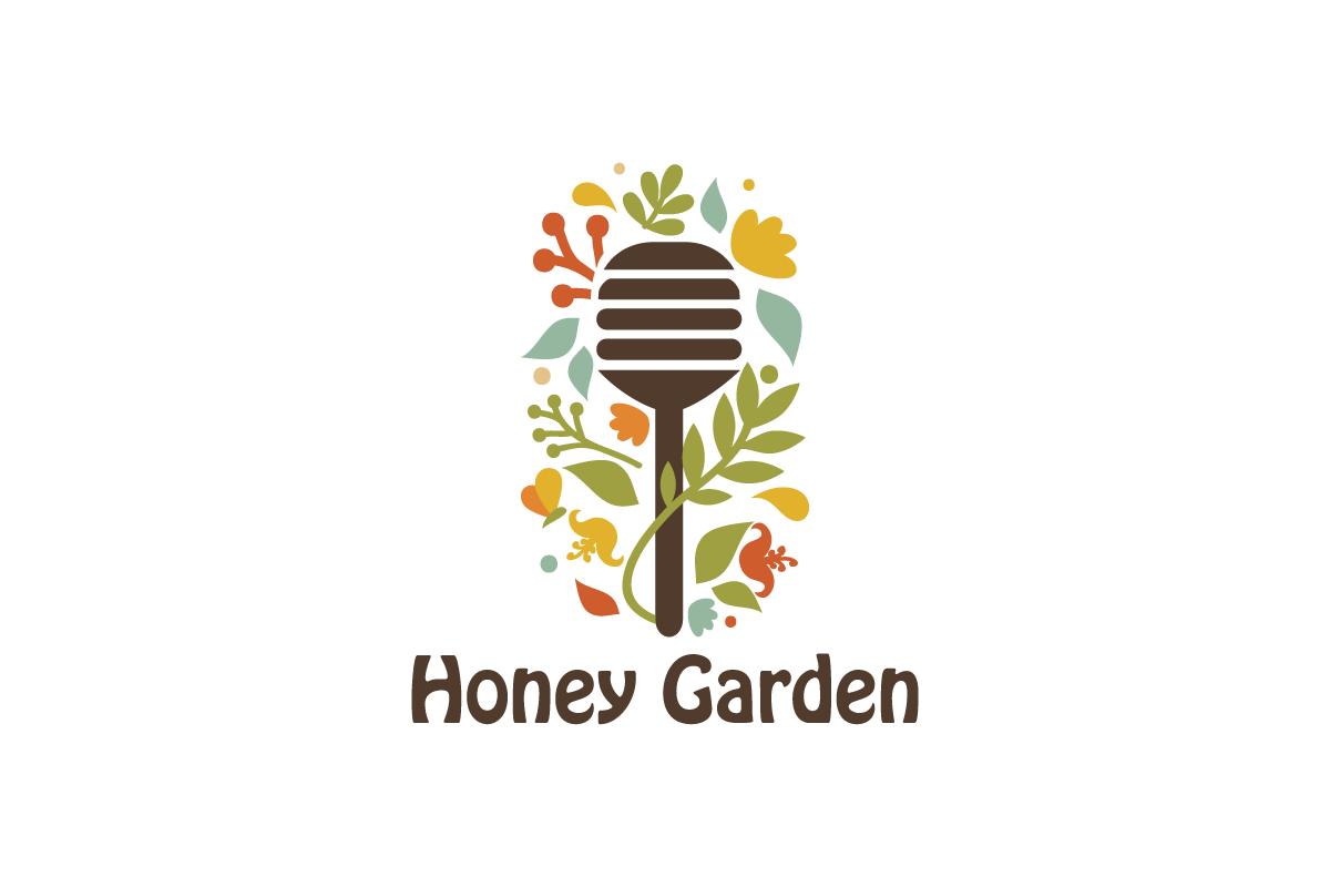Attractive Homeu003eDesigned By Daliau003eHoney Garden Logo Design