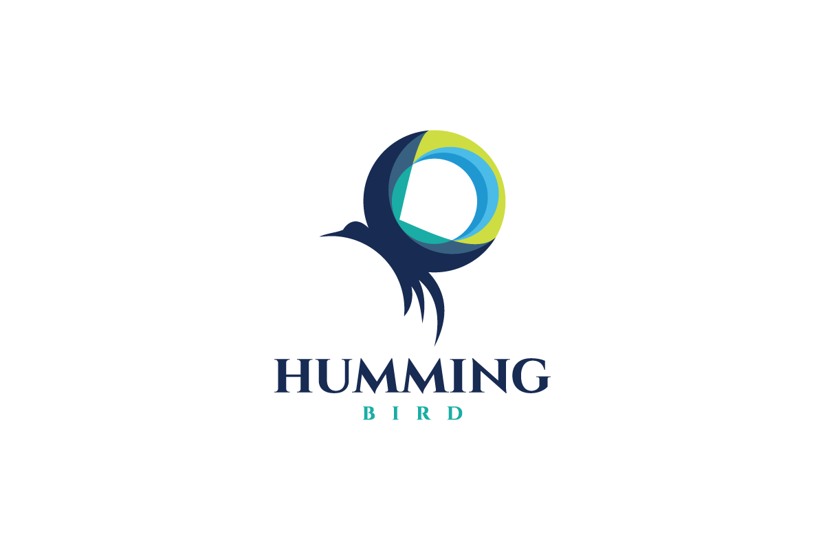 hummingbird ring logo design logo cowboy hummingbird ring logo design
