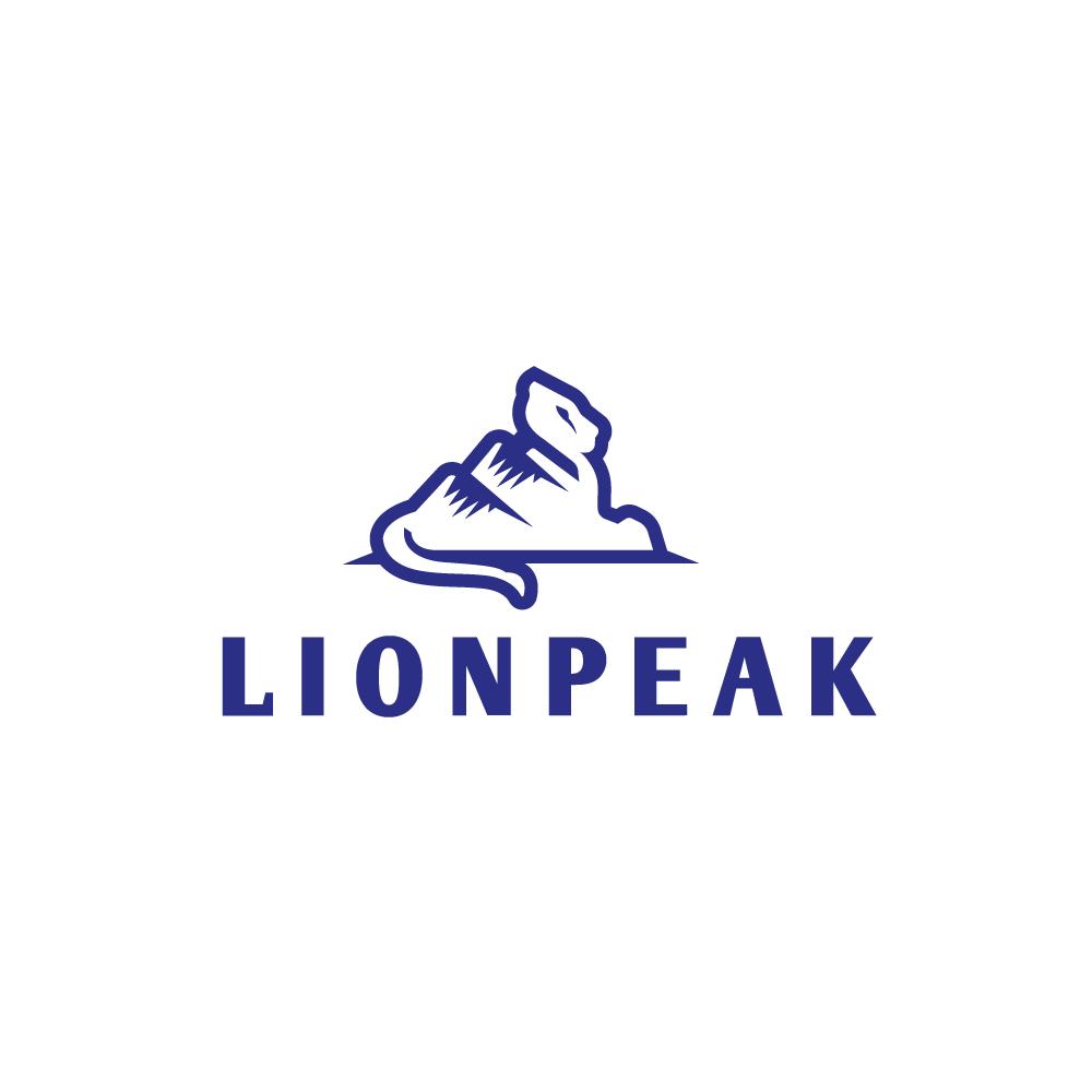 for sale lion peak mountain lion logo design logo cowboy