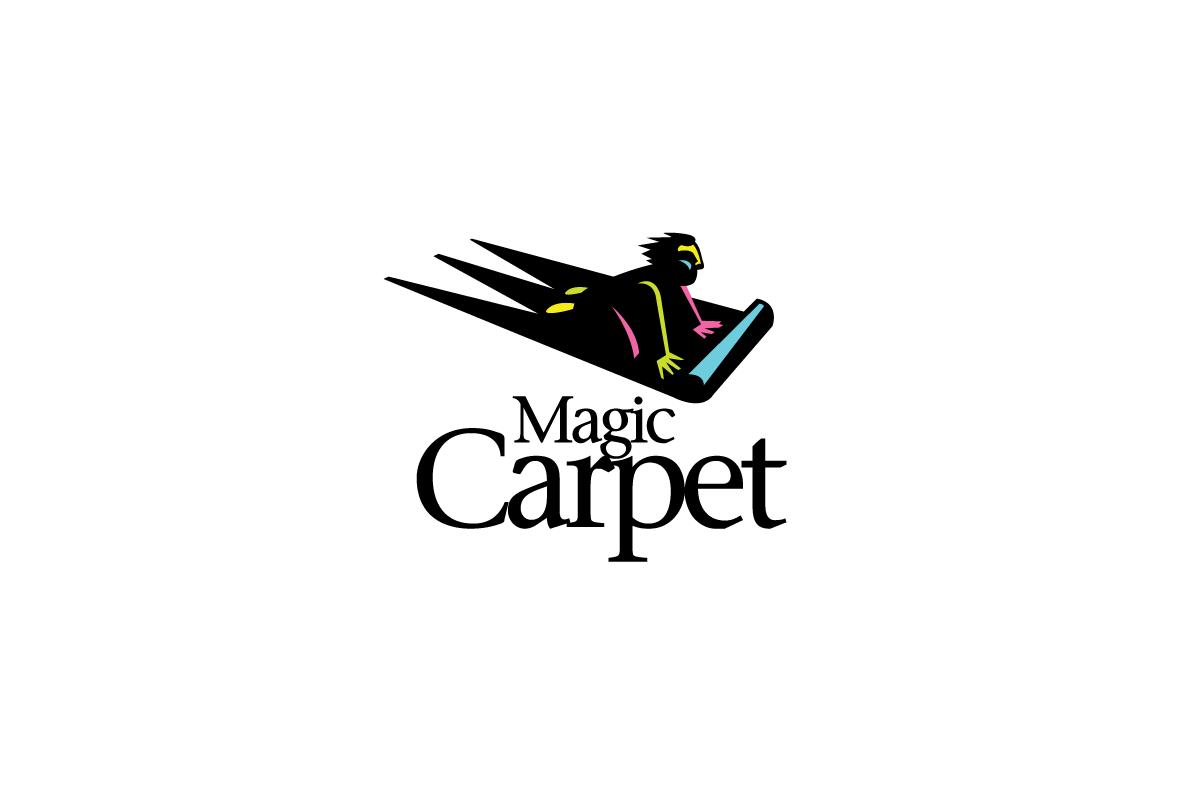 Magic Carpet Logo Cowboy