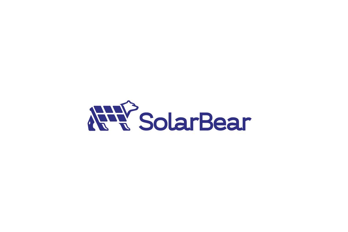 Sold Solar Bear Solar Power Company Logo Logo Cowboy