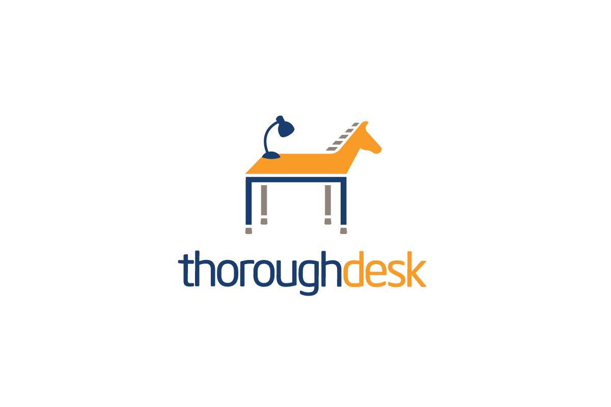 Thoroughdesk Desk Horse Logo