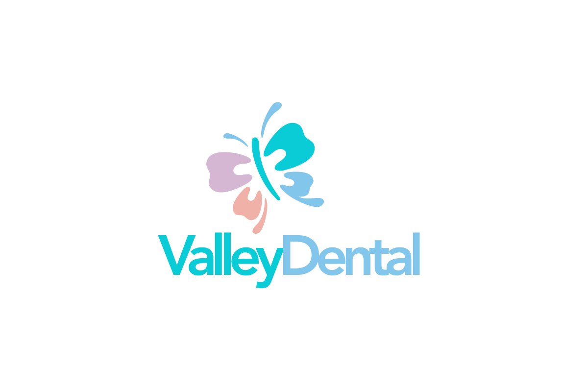 valley dental butterfly tooth logo logo cowboy