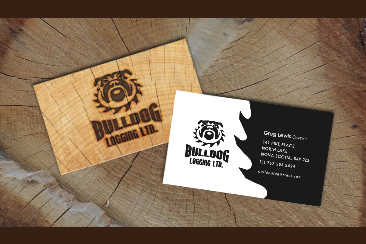 Custom Business Card Design | Logo Cowboy