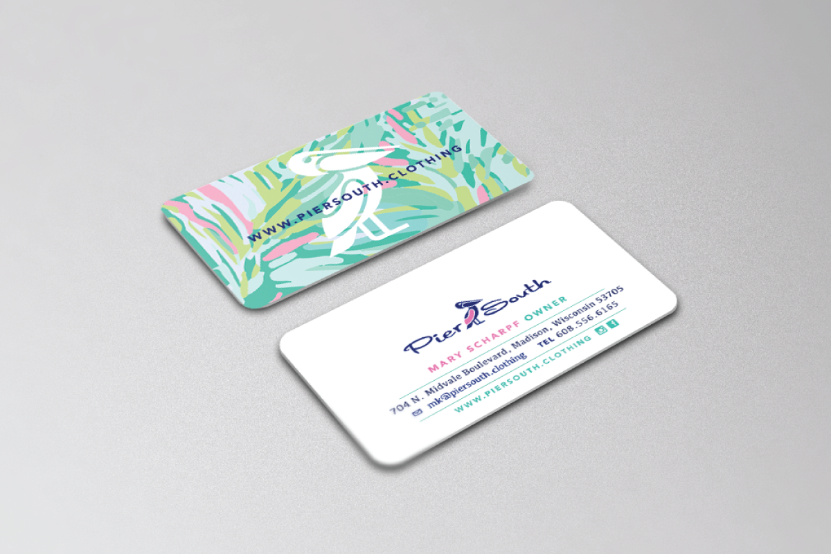 Custom business card design logo cowboy for Custome business cards