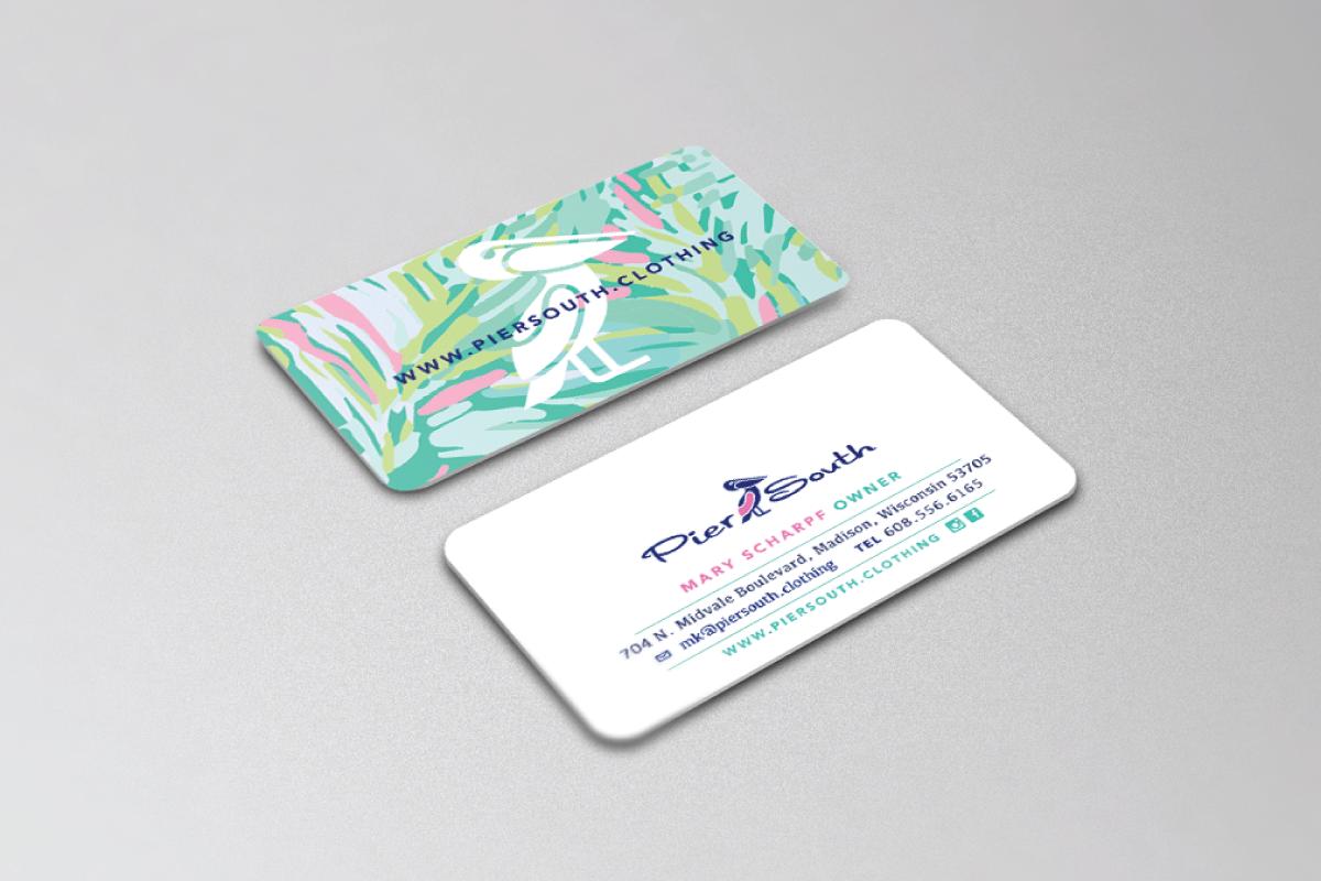 Custom Business Card Design | Logo Cowboy