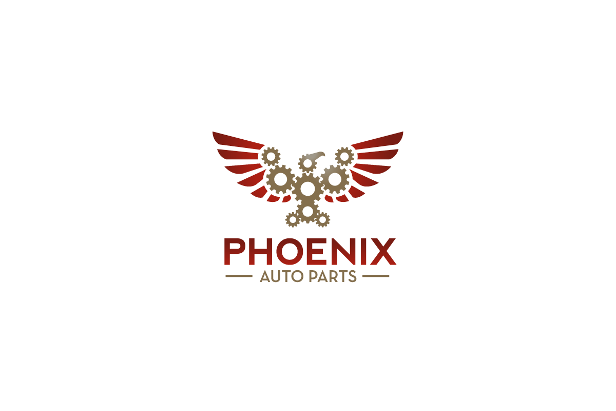 Phoenix Auto Parts >> Phoenix Auto Parts Gear Bird Logo