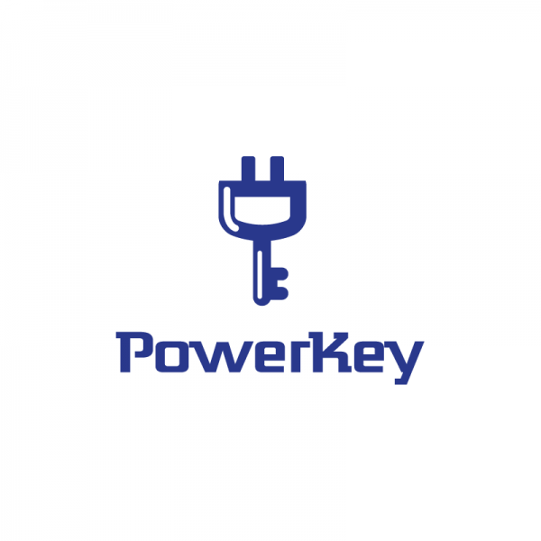 Power Key Logo Design | Logo Cowboy