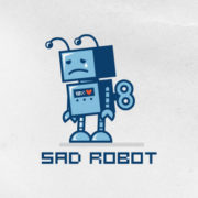 sad robot_logoturn