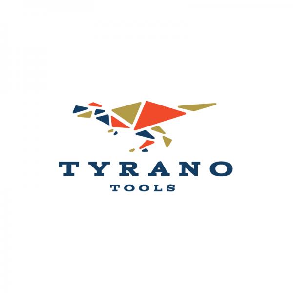 Tyrano Tools Tyrannosaurus Rex Logo Design Logo Cowboy