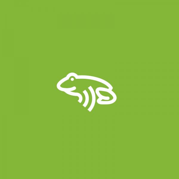Wifrog frog logo design logo cowboy for Frog consulting