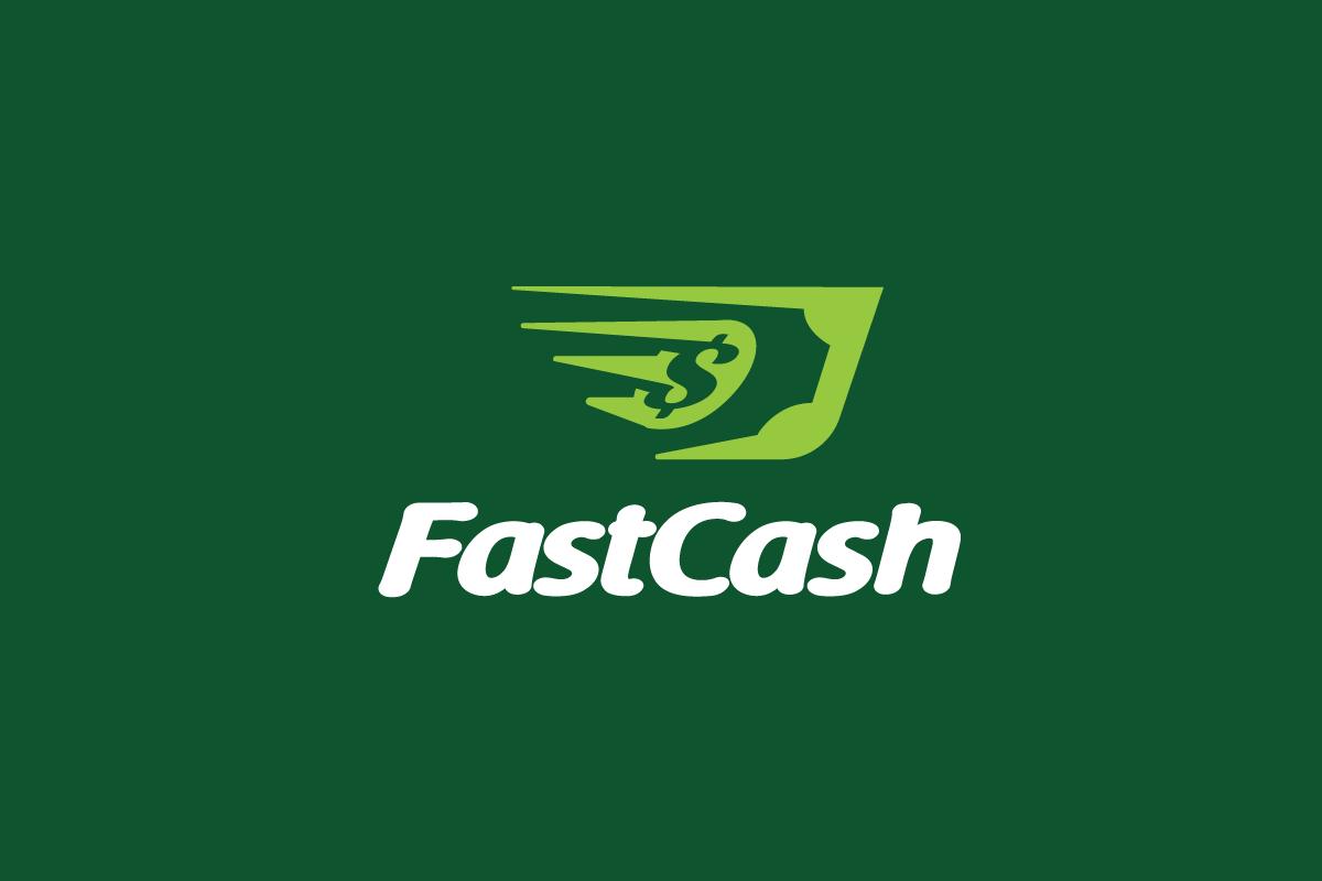 SOLD - Fast Cash—Money Logo Design - Logo Cowboy