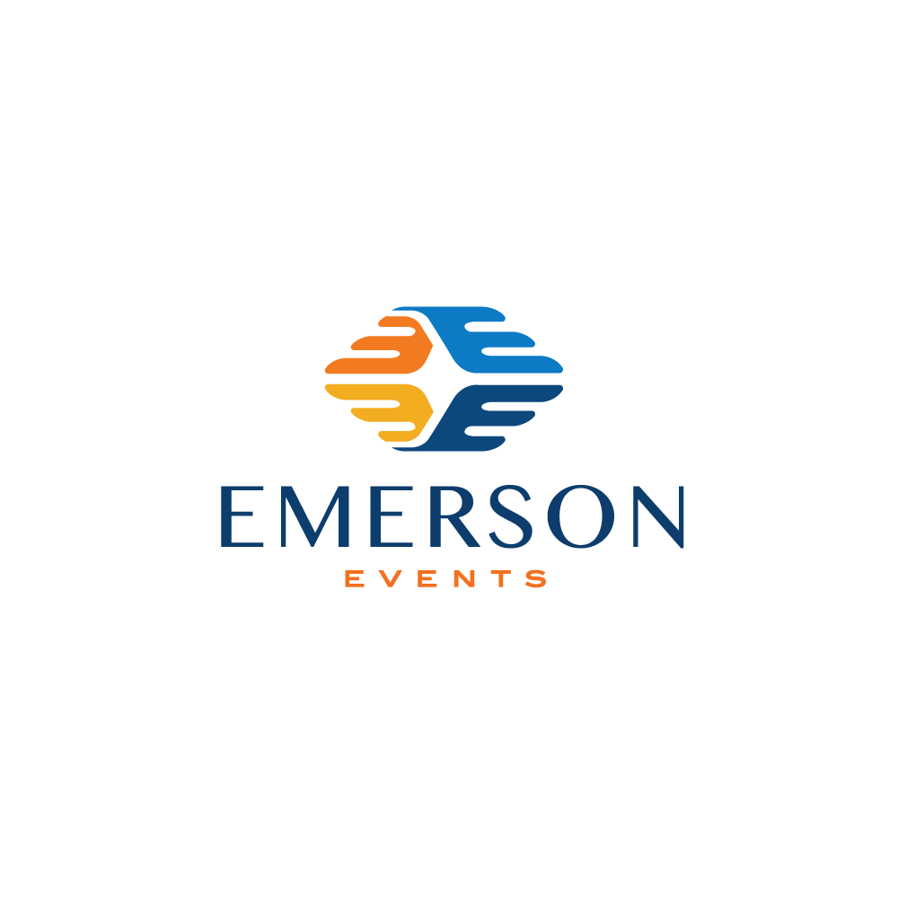 Emerson Events Letter E Logo Design Logo Cowboy