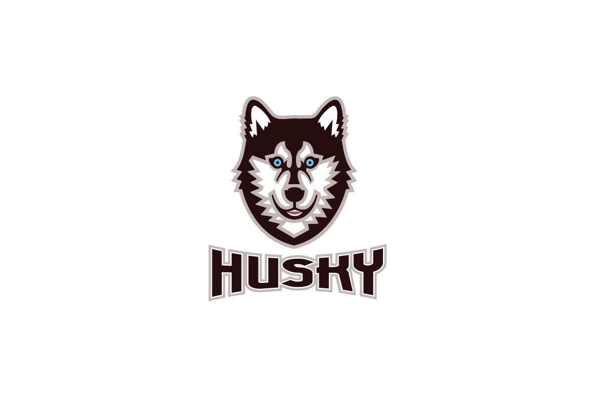husky logo design logo cowboy husky logistics inc huskie logos vectors