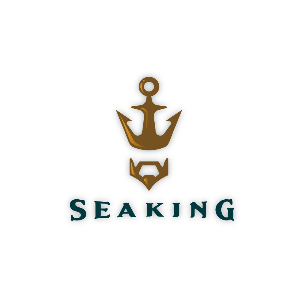 sold � sea king � anchor crown logo logo cowboy