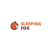 sleeping fox_logocowboy