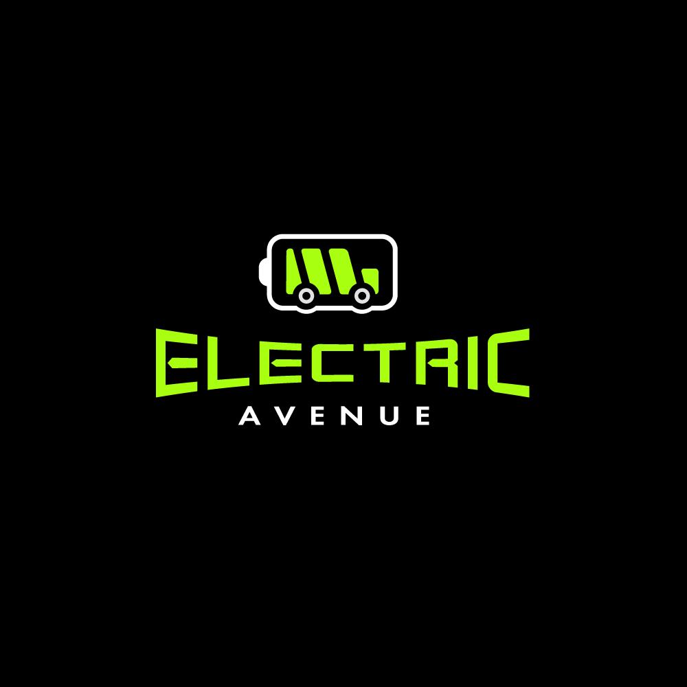 Electric Avenue Car Logo Design Logo Cowboy